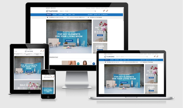Flatsome Ecommerce Blogger Store Theme
