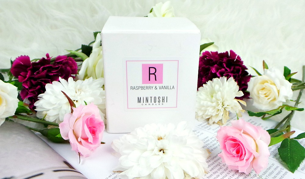 Mintoshi Raspberry & Vanilla Candle