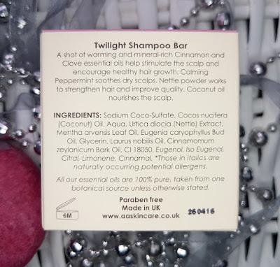 AA Skincare Twilight Shampoo Bar
