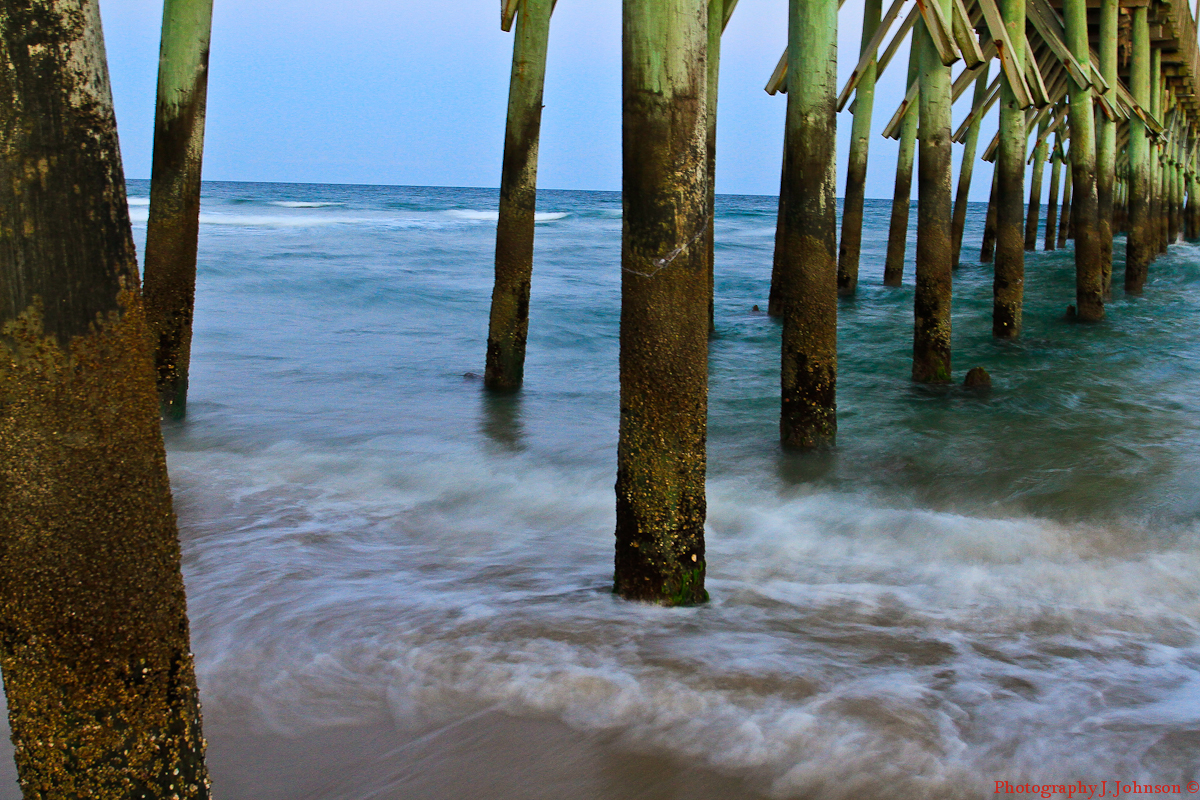 Lincoln's Domain: Seaview Fishing Pier North Topsail