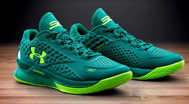 """huge selection of c3bf6 2e99c Here is a look at the brand new Under Armour Curry One Low """"Scratch Green""""  Shoe Available HERE + HERE with more sizes HERE , this colorway is gonna  look ..."""