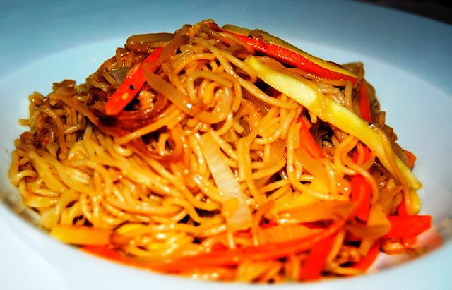Fideos Chinos con Verduras (Chao Miáo) Receta