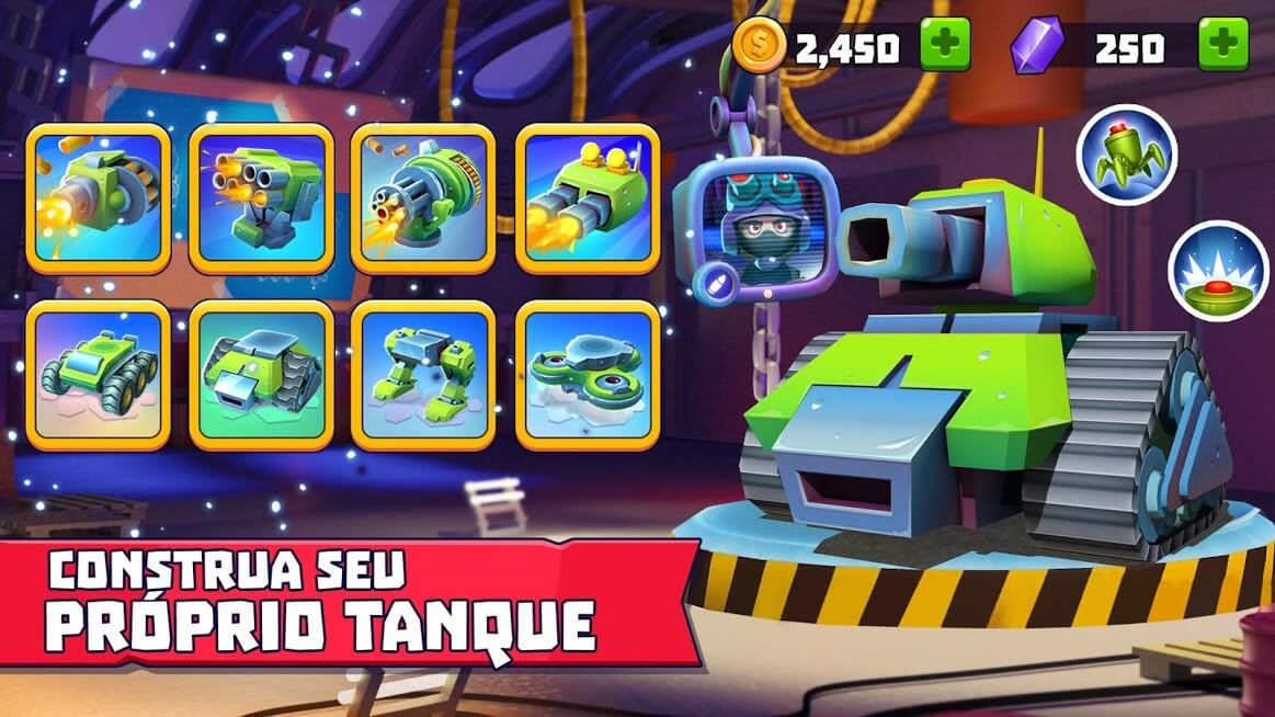 Tanks A Lot MUNIÇÃO INFINITA / MOD MENU 2.68