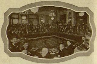 Simultáneas de Capablanca en el Círculo Ecuestre en 1920