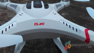 Cheerson CX20 Auto-Pathfinder Quadcopter Close-up