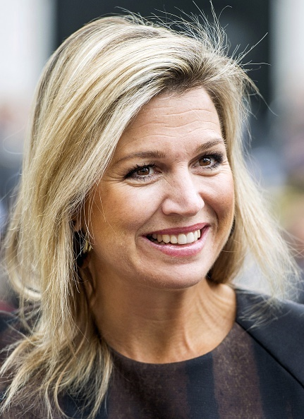 Queen Maxima of The Netherlands visits the project Power Play in Warffum