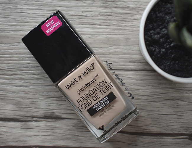 Base de Maquillaje Photofocus de Wet n Wild