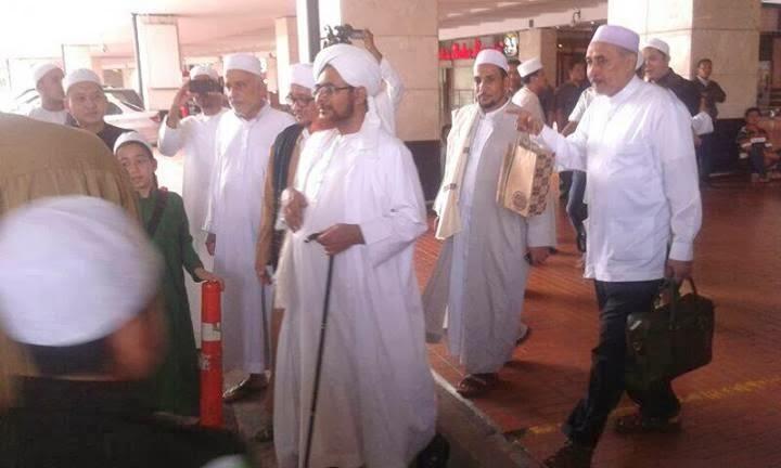 Kedatangan Habib Umar bin Hafidz di Jakarta 2013