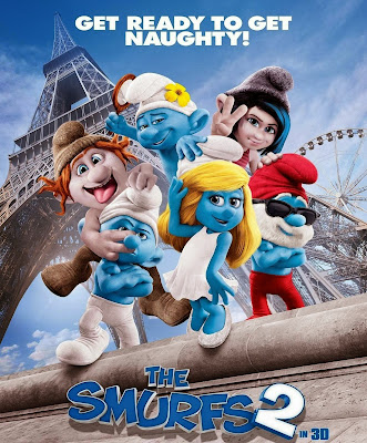 Poster Of The Smurfs 2 (2013) In Hindi English Dual Audio 300MB Compressed Small Size Pc Movie Free Download Only