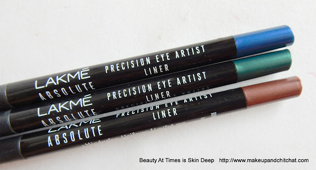 Lakme Absolute Illuminate and Shine Precision Eye Artist Liners