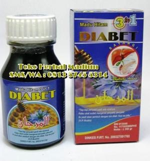 Jual Madu Hitam Pahit Diabet 3 in 1 di Madiun