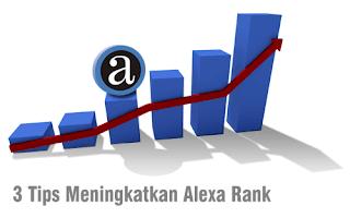 3 Tips Cepat Meningkatkan Alexa Rank