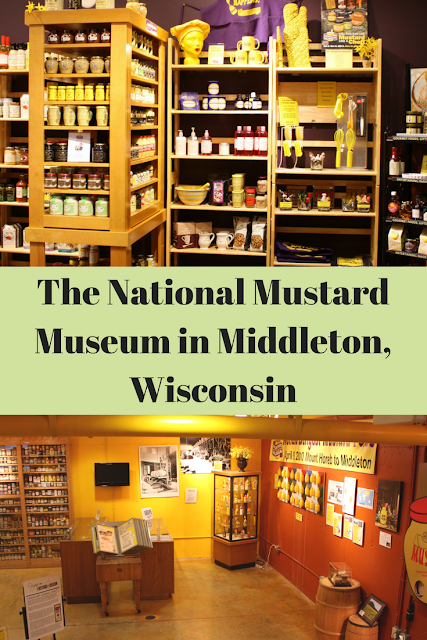 The National Mustard Museum in Middleton, Wisconsin