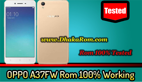 OPPO A37FW Flash File Without Password | OPPO A37FW Stock