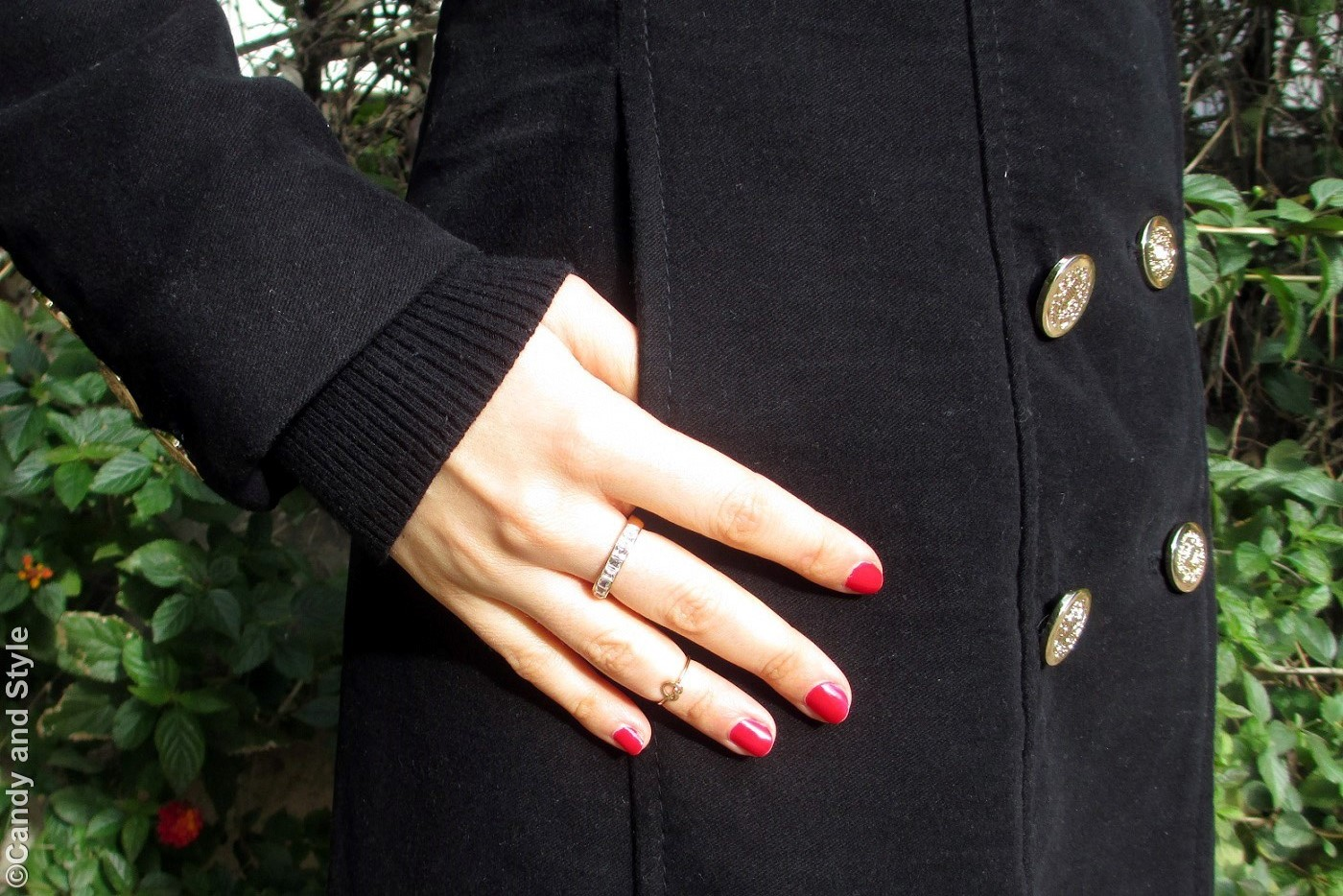 Details - Total Black+RedNails