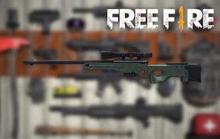senjata terbaik free fire awm