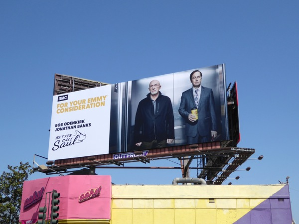 Better Call Saul season 2 Emmy nomination billboard