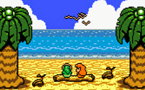 link y marin frente al mar the legend of zelda