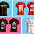 Cetak Baju Design Sendiri Pos Seluruh Malaysia