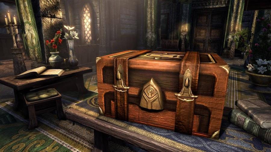 elder scrolls online home storage