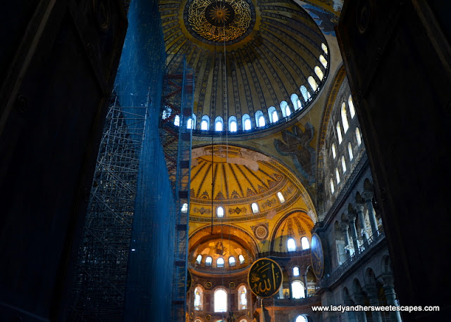 Hagia Sophia restoration
