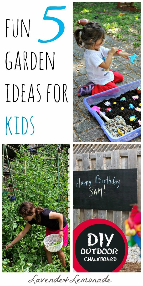 5 Ideas for Gardening with Kids!