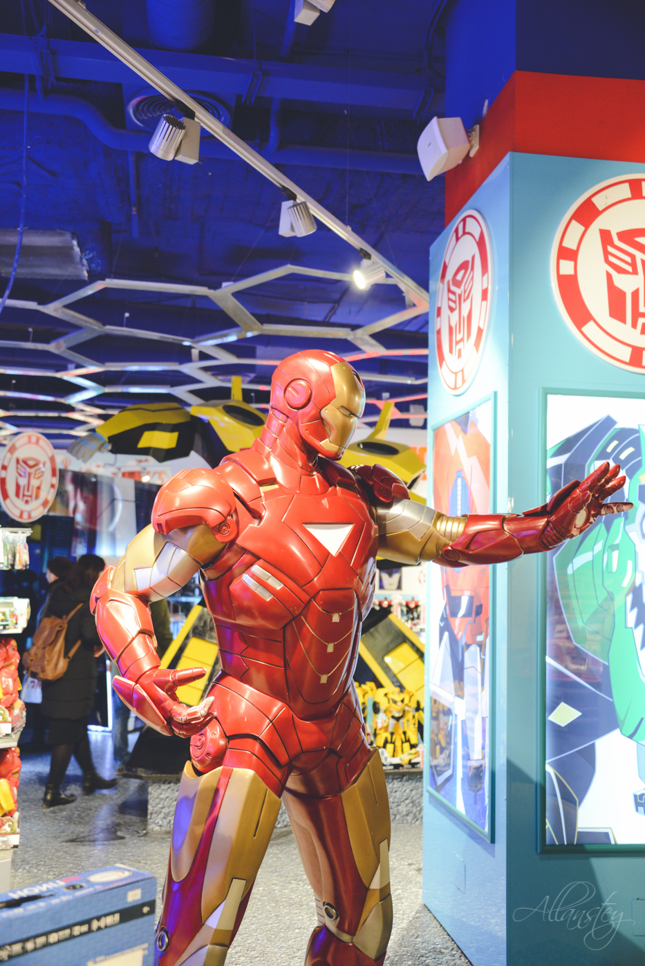 Ironman in Detsky Mir shop