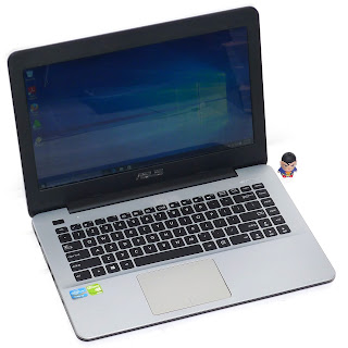 Laptop Gaming ASUS A455L Core i5 Double VGA Bekas di Malang