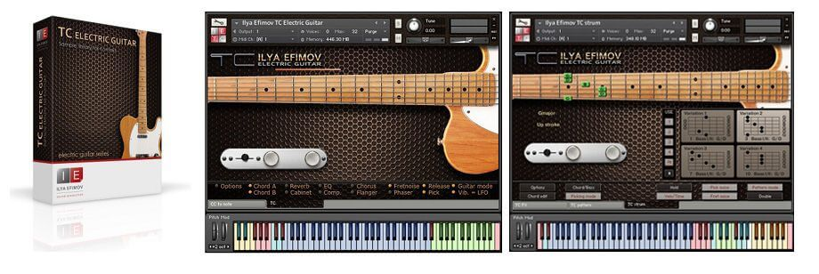 Ilya Efimov TC Electric Guitar Telecaster VST