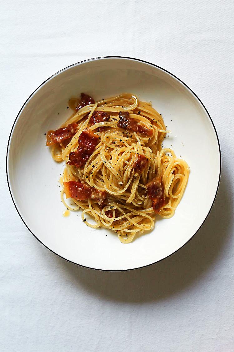 Spaghetti alla Carbonara, Originalrezept! {Spaghetti nach Köhler-Art} | Arthurs Tochter kocht. Der Blog für Food, Wine, Travel & Love