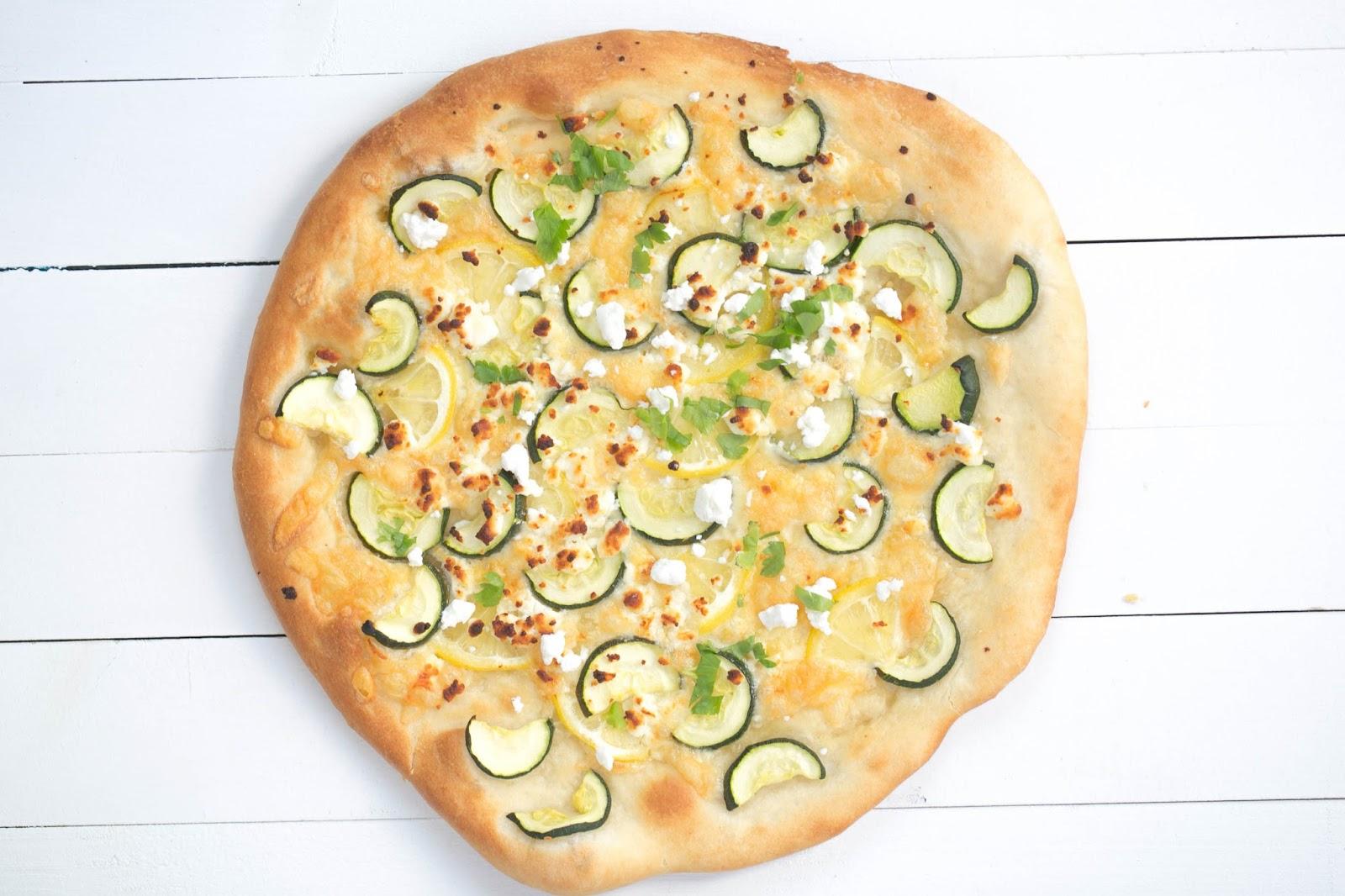 Pizza de calabacín y limón | Tengo un horno y sé cómo usarlo ...