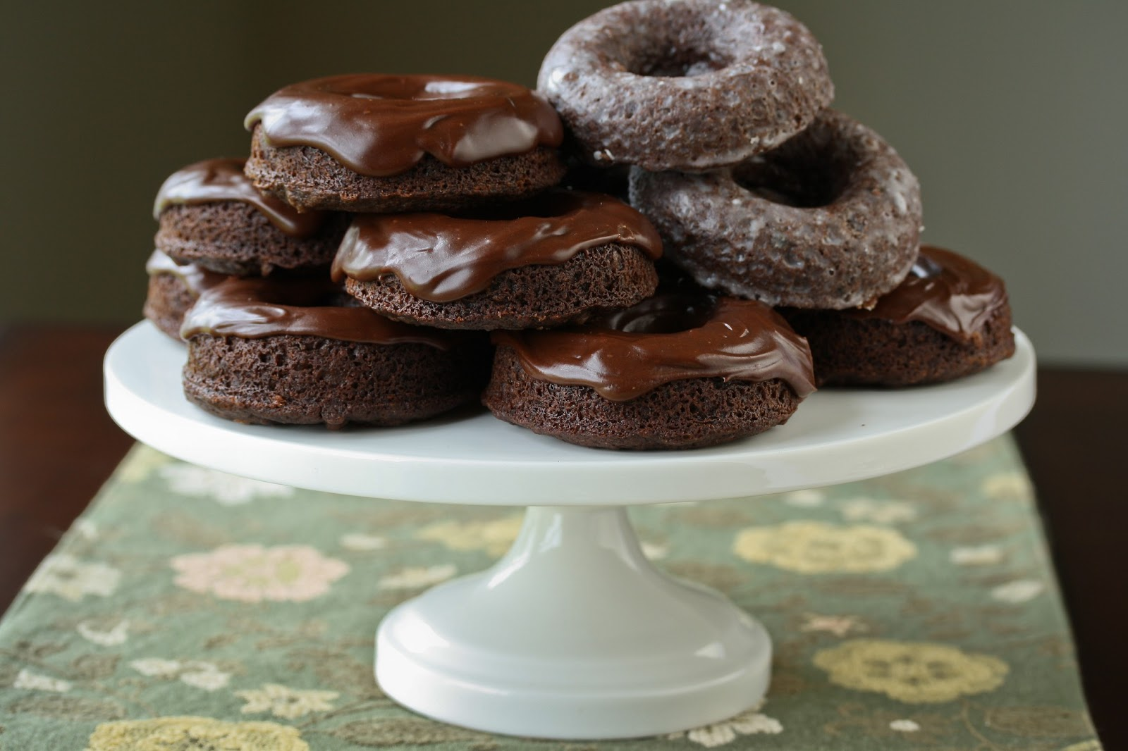 Chocolate Donuts Saving Room For Dessert