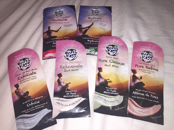 Earth Kiss Face Masks Review