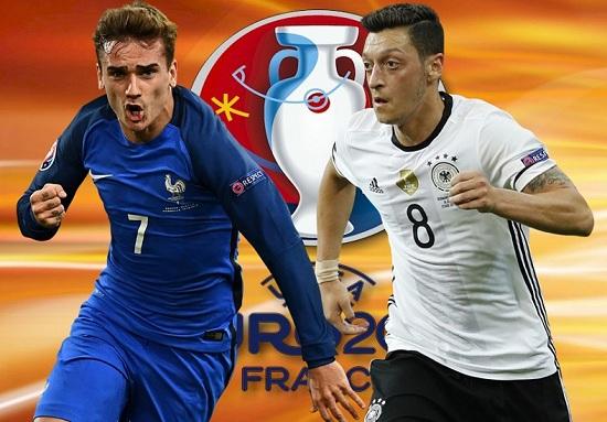 Pháp và Đức tái ngộ sau World Cup 2014