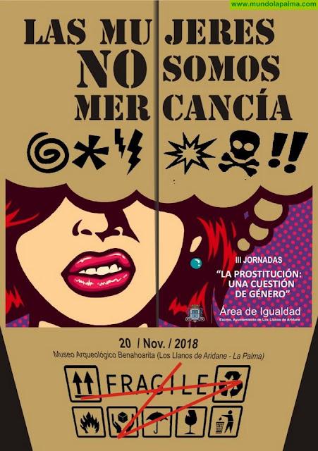 """Los Llanos celebra hoy las III Jornadas sobre la """"Prostitución: Una cuestión de género"""""""