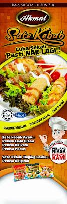 Sate Kebab Akmal - Resepi Minum Petang Mudah Dan Sedap