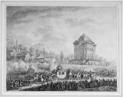 Retour de Varennes. Arrivée de Louis Capet à Paris, 25 juin 1791