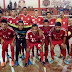 Aremados goleia e se aproxima dos lideres no campeonato municipal de futsal 2018