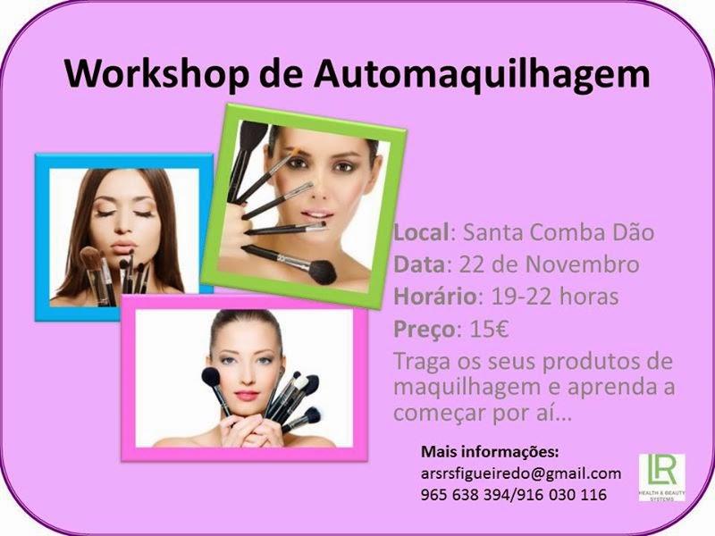 Workshop de automaquilhagem em Santa Comba Dão