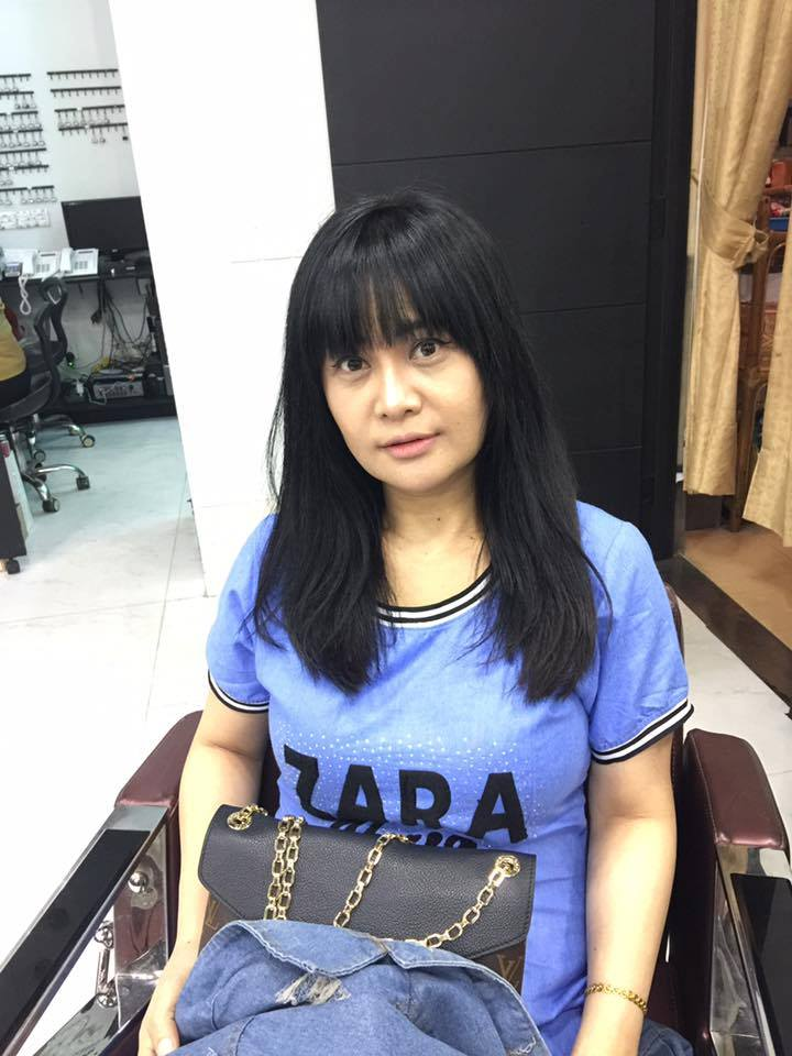 Htet Htet Moe Oo New Hair Style
