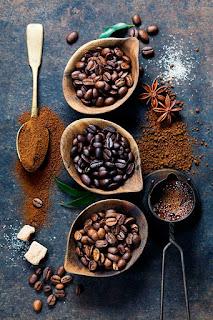 Степени обжакрки кофе