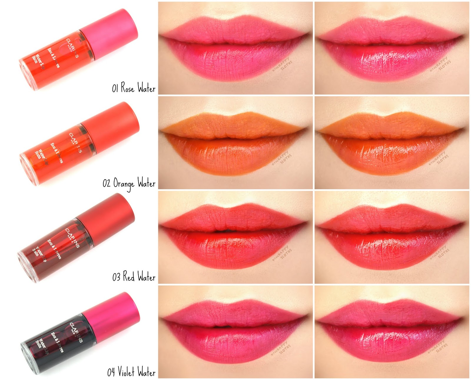 Clarins | Water Lip Stain: Review and Swatches