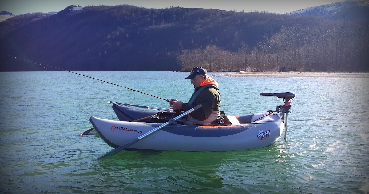 Gorge fly shop blog outcast stealth pro frame less for Fishing pontoon boat reviews