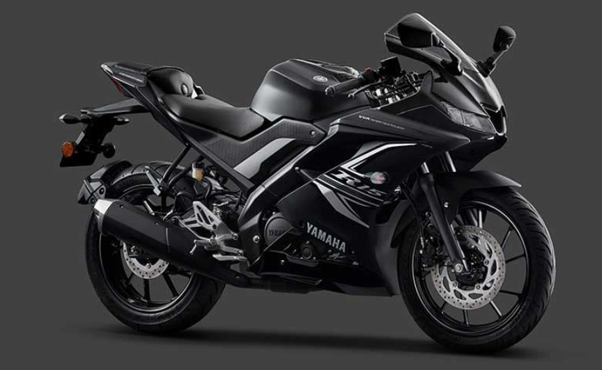 Yamaha india launched  new YZF-R15 V3.0 ABS with Dark night color scheme price Rs 1.39L