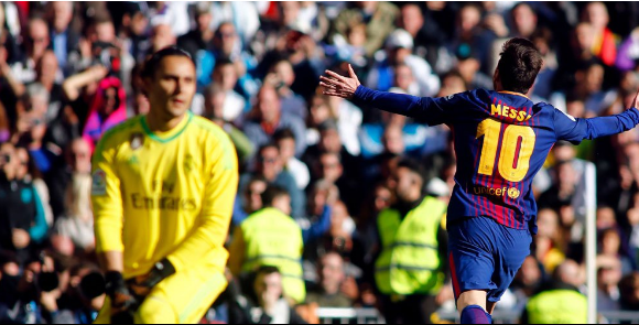 "alt=""Barcelona again showed their strength in the arena of La Liga"""