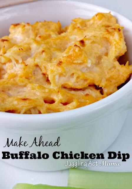 Make Ahead Buffalo Chicken Dip