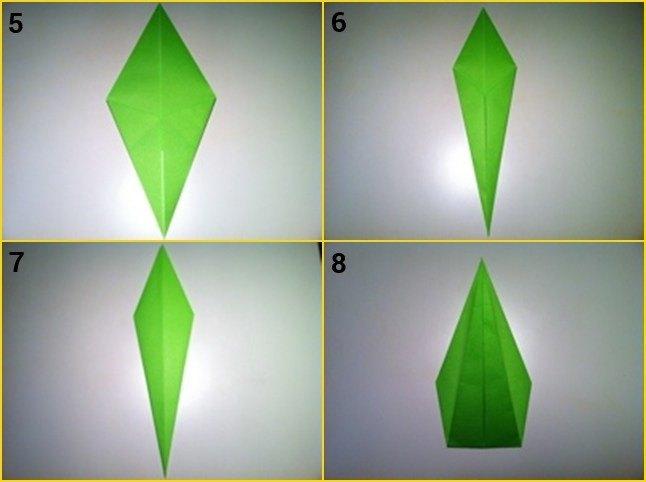 Cara untuk Membuat Bunga Dari Kertas