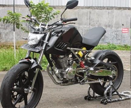 Modifikasi Honda Tiger Minor Fighter