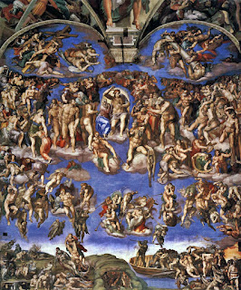 Michelangelo Juizo Universal CApela Sistina - O Juízo Final do Michelangelo