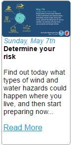 Hurricane Hazard Risks